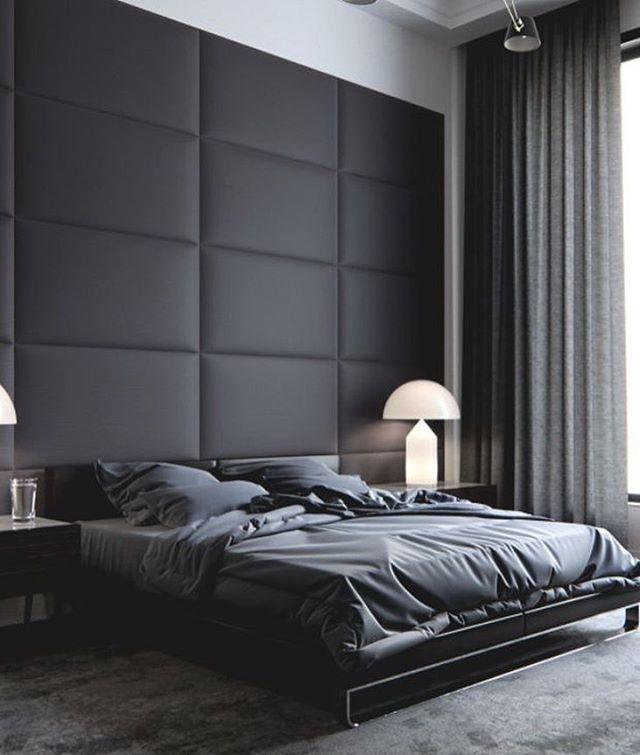 Modern Bedroom Grey