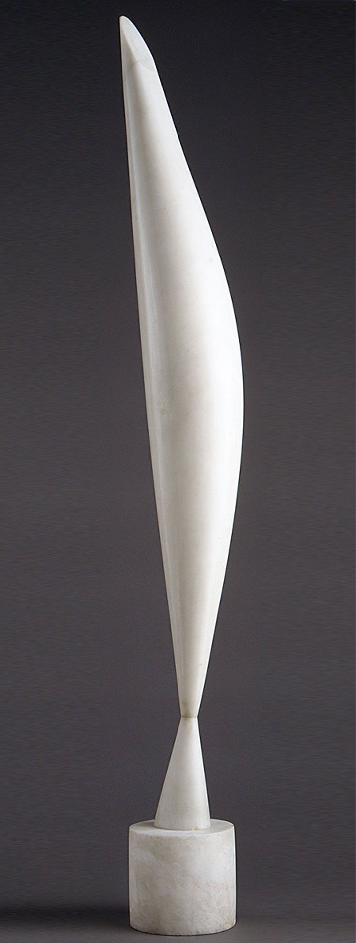 #Art - Bird in Space, 1923 Constantin Brancusi (French, born Romania, 1876–1957) Marble