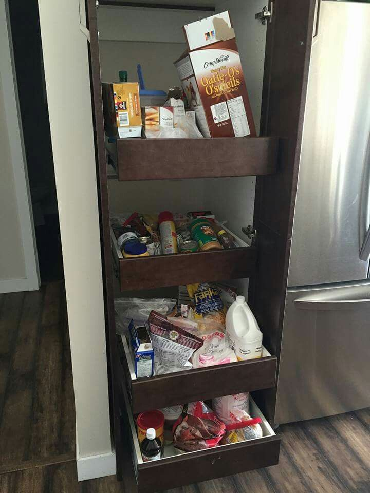 Pantry slide outs