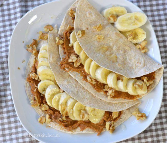 6x wraps met fruit ontbijt recepten - wrap met appel en kaneel