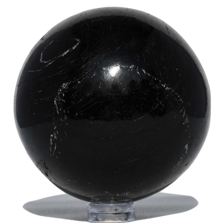 Black Tourmaline Sphere - Bella Rok - Finest Hand Selected Crystal , Stones and Minerals