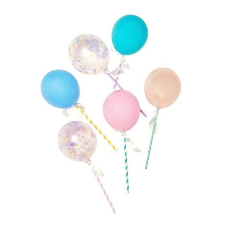 Pastel Balloon Pops – Lucky Lulu Party Shop