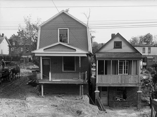Former 1880s bungalow has reno history and old boots found in the rafters. Jeff Reed, the curious buyer of 147 Wheeler Ave. in the Beach, visited the Toronto Archives to find out about the home's quirks. #renovation #archives