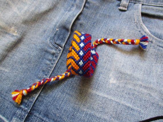 Friendship Bracelet Bracelet Handmade friendship by ZsuzsaBoutique