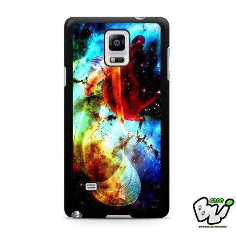 Ariel On Galaxy Nebula Samsung Galaxy Note 4 Case