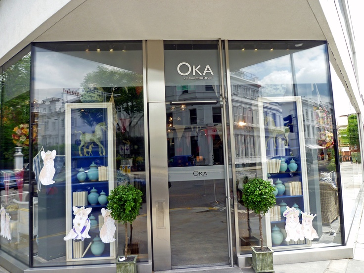Oka, 155-167 Fulham Road, London SW3 6SN, Image by Homegirl London