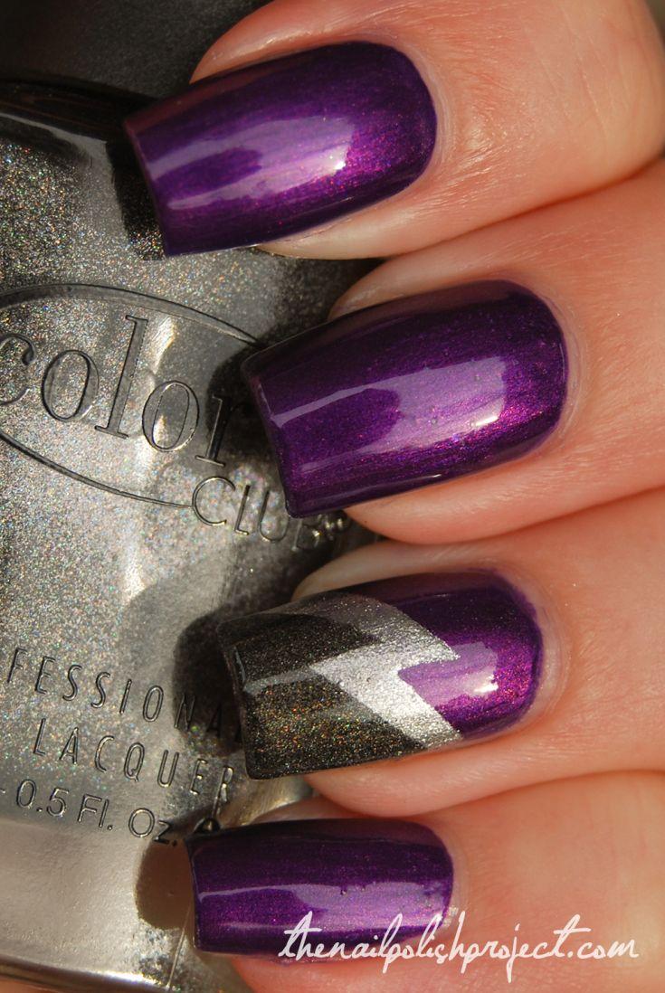 Nail art color violet - The 25 Best Ideas About Purple Nail Designs On Pinterest Purple Nails Fun Nail Designs And Dot Nail Designs