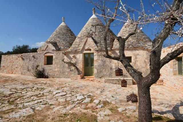 Living in a #trullo is like living in a fairy tale! #ItriaValley #Puglia