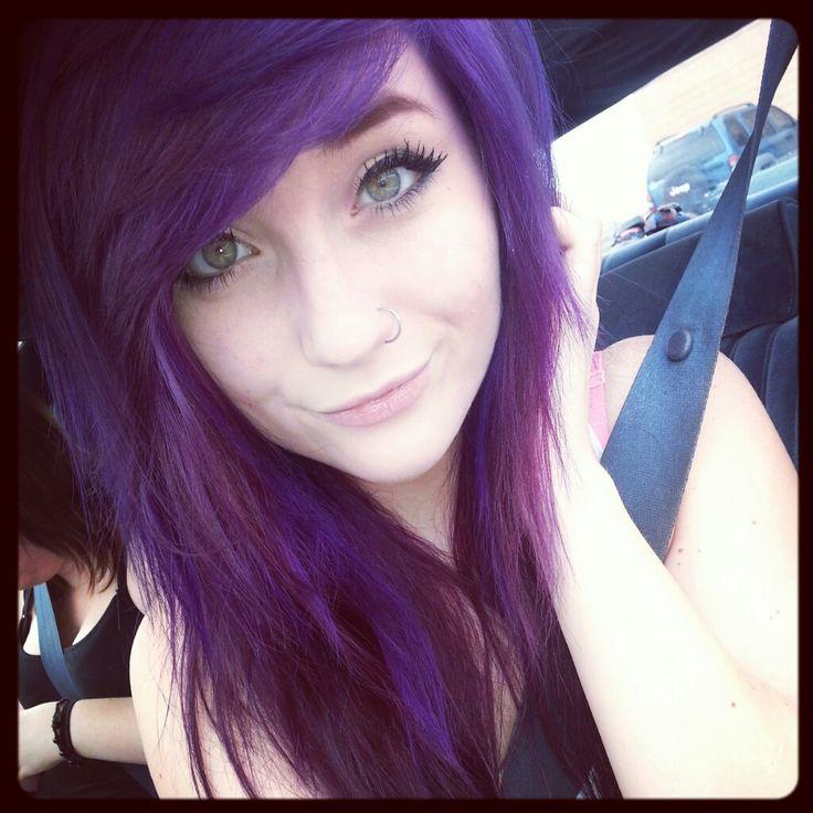 purple.emo.scene.hair