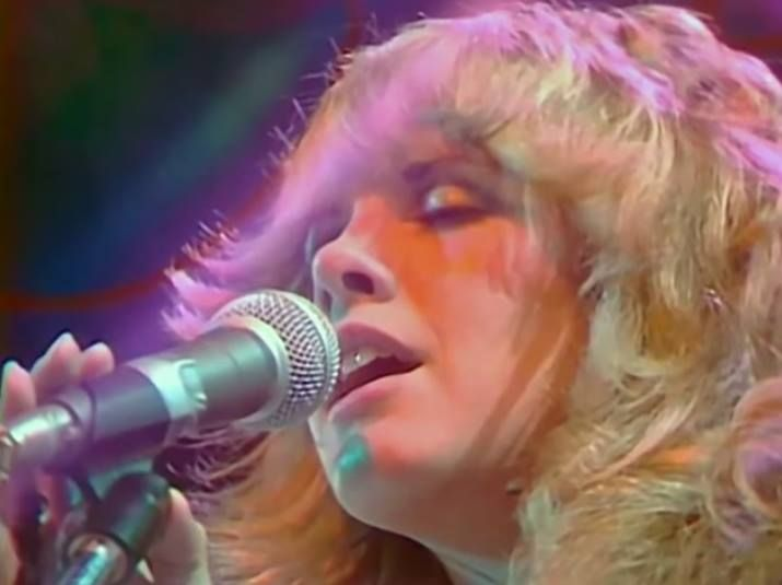 Stevie Nicks with Fleetwood Mac on NBC's The Midnight Special, aired April 8, 1976