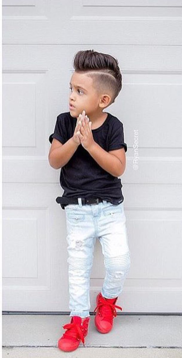 Little Boy Hairstyles-Kidss Trend-Boys Outfits-Childs Summer season Outfits
