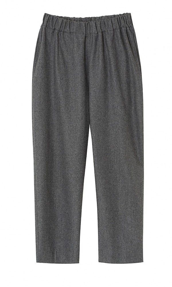 Grey flannel pants - Plümo Ltd
