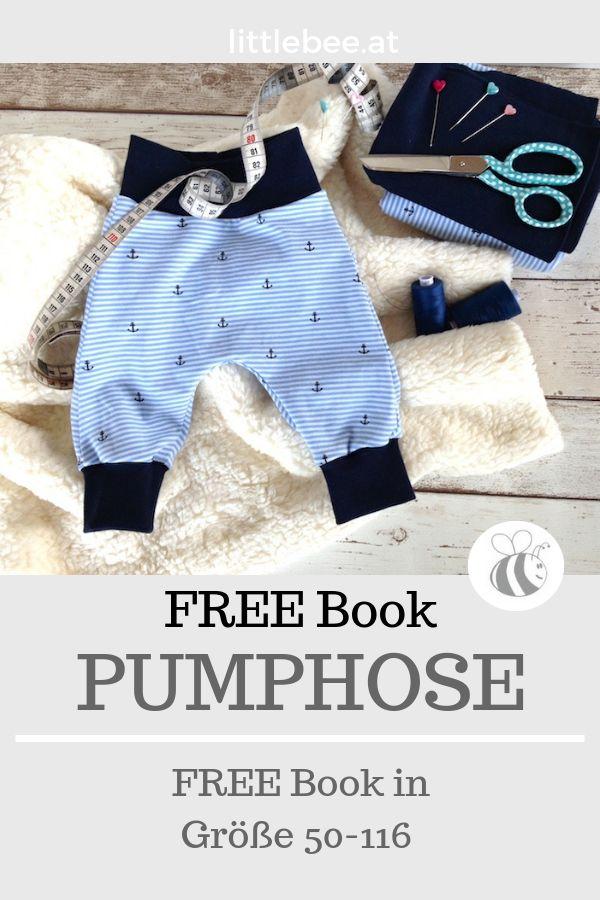 Bloomers FREE Tutorial – KOSTENLOSES Buch   – littlebee Blogartikel