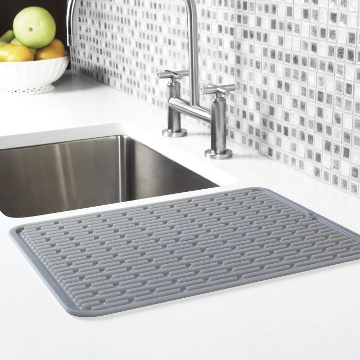 Large Silicone Drying Mat Kitchen Sink Drainers Sink Drainer Sink
