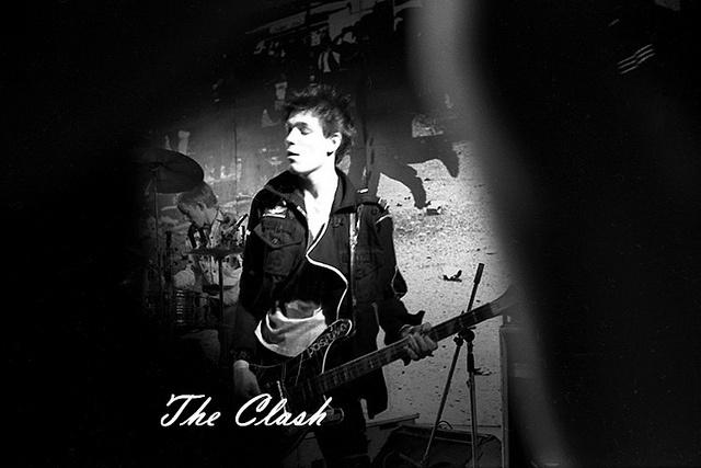 The Clash playing Swansea University on the White Riot Tour 1977 (via www.euroshots.com)