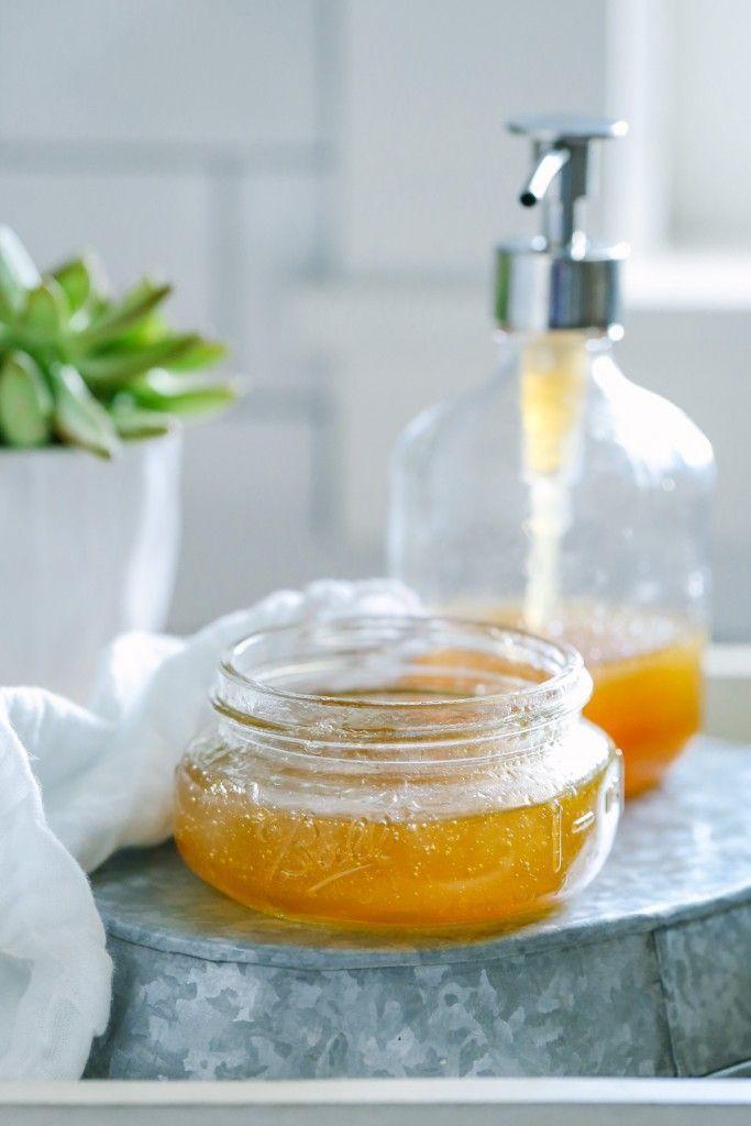 DIY Honig und Aloe Sommer Face Wash Spa-Tage zu H…