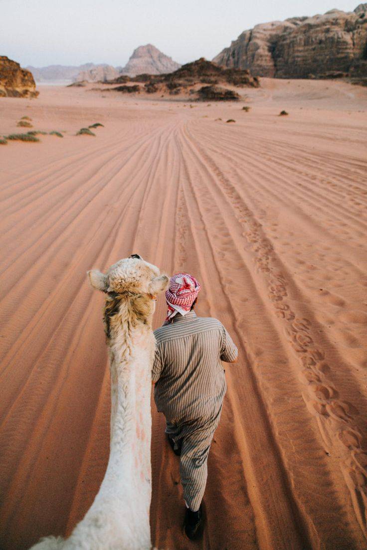 JORDAN travel guide – Ride a camel in the Middle East (Wadi Rum) -https://ourgoodadventure.com/2017/06/jordan/