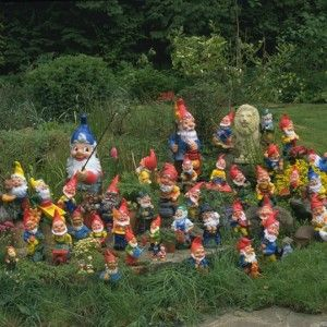 unusual garden ideas unusual and wonderful gardens gnome takeover 9 unusual and