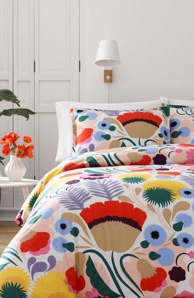 Marimekko Ojakellukka Comforter & Sham Set available at #Nordstrom