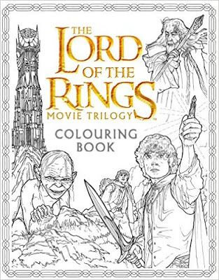 Review Of Lord The Rings Movie Trilogy Colouring Book