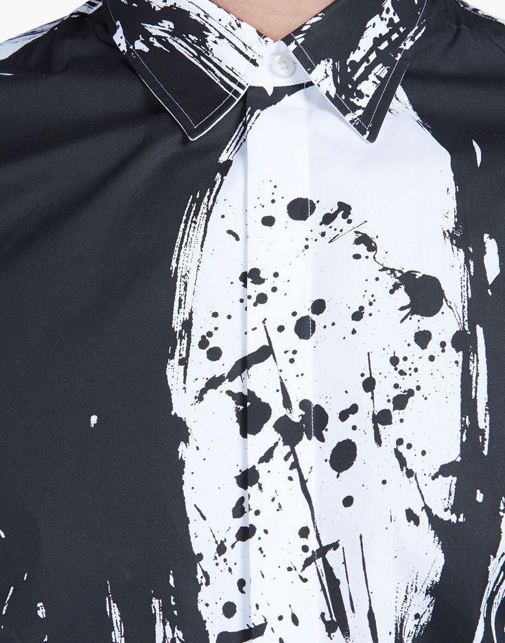 relax dan shirt рубашки Для Мужчин Dsquared2