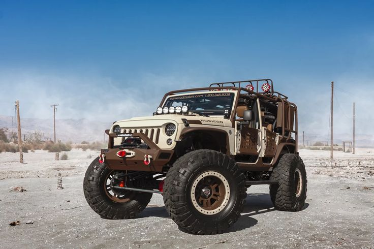 Kudos to Starwood Motors Custom Jeeps! http://www.carid.com/everything-jeep.html