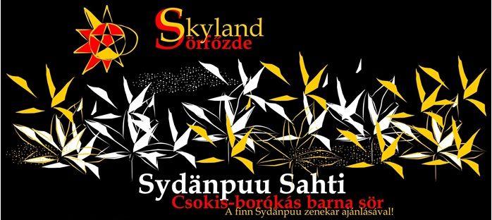 Skyland Sörfőzde - Sydänpuu Sahti csokis-borókás barna sör