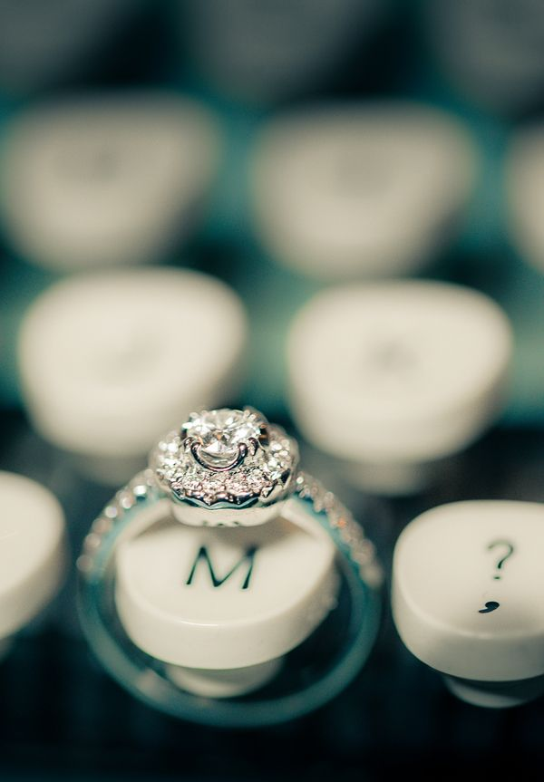 Gorgeous Vintage Engagement Ring | Esenses Studio | See More! http://heyweddinglady.com/retro-fabulous-mad-men-wedding-styled-shoot-from-ese...