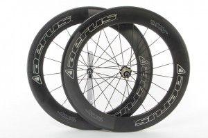 2015 Aerus Quantum SL80 Carbon Clincher Wheel Set - Full Warranty!