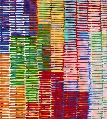 Aboriginal Art Painting by Adam Reid 84cm x 94cm