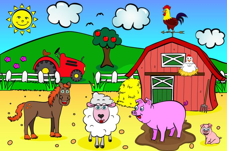 boerderij prent | Over juf Jannies kinderboerderij: