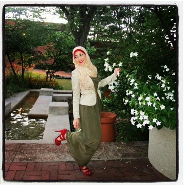 @Sue_elsayed ❤ hijab style
