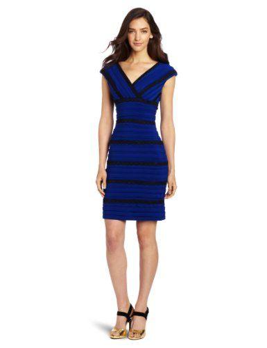 Aryn k blue dress monica