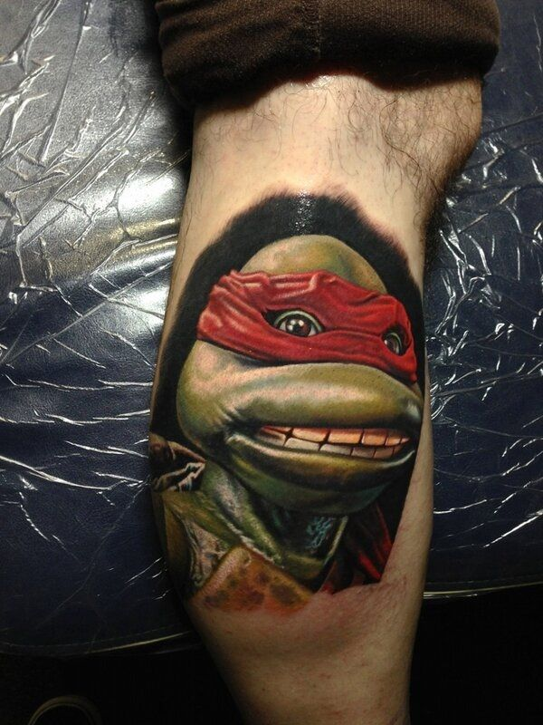 50 Ninja Turtle Tattoos Designs and Ideas