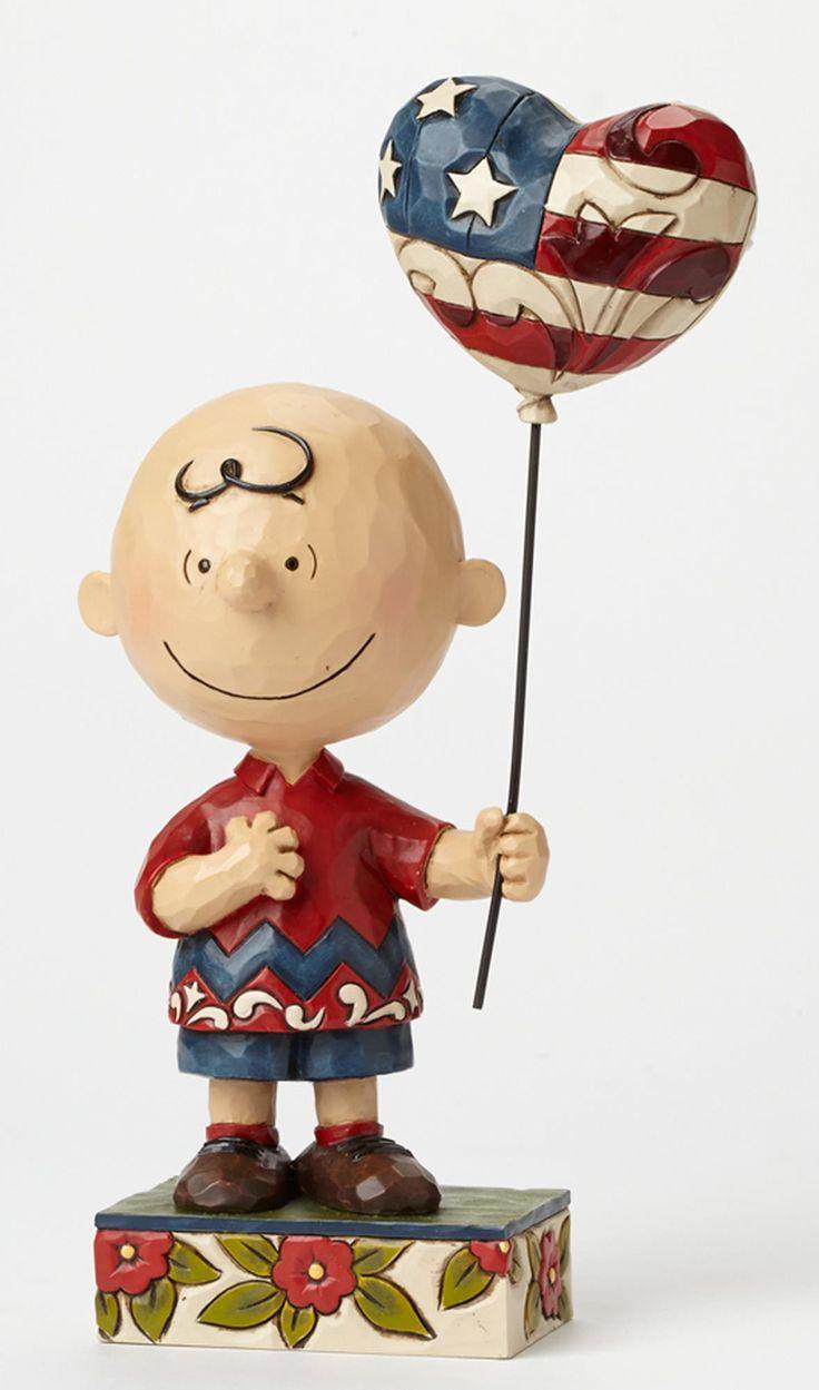 Patriotic Charlie Brown