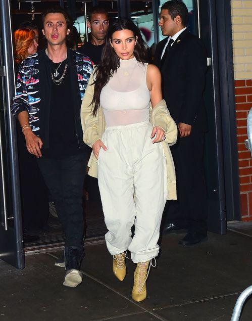 PE2017 OTD meilleurs looks de Kim Kardashian a la Fashion Week de New York 8