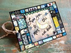 whimsy style mixed media book marks - Google Search