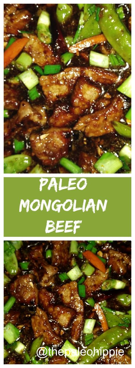 PF Chang's has nothing on this sticky sweet & spicy Paleo Mongolian Beef recipe