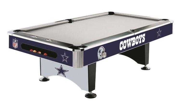 Dallas Cowboys 8' Pool Table