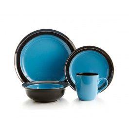 GALAXY BLUE dinnerware set, 16 PC (SERVICE FOR 4)