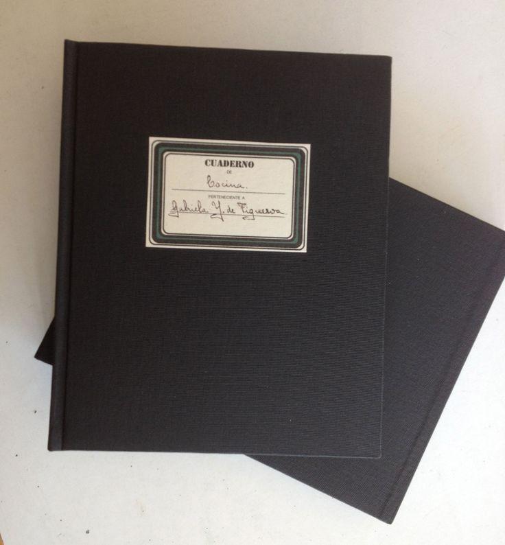 Restauración Cuaderno de cocina