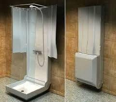 Image result for folding camper with shower