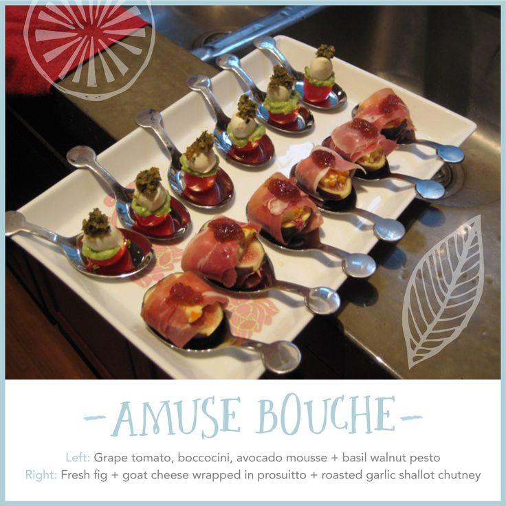 Quick and easy amuse bouche recipes