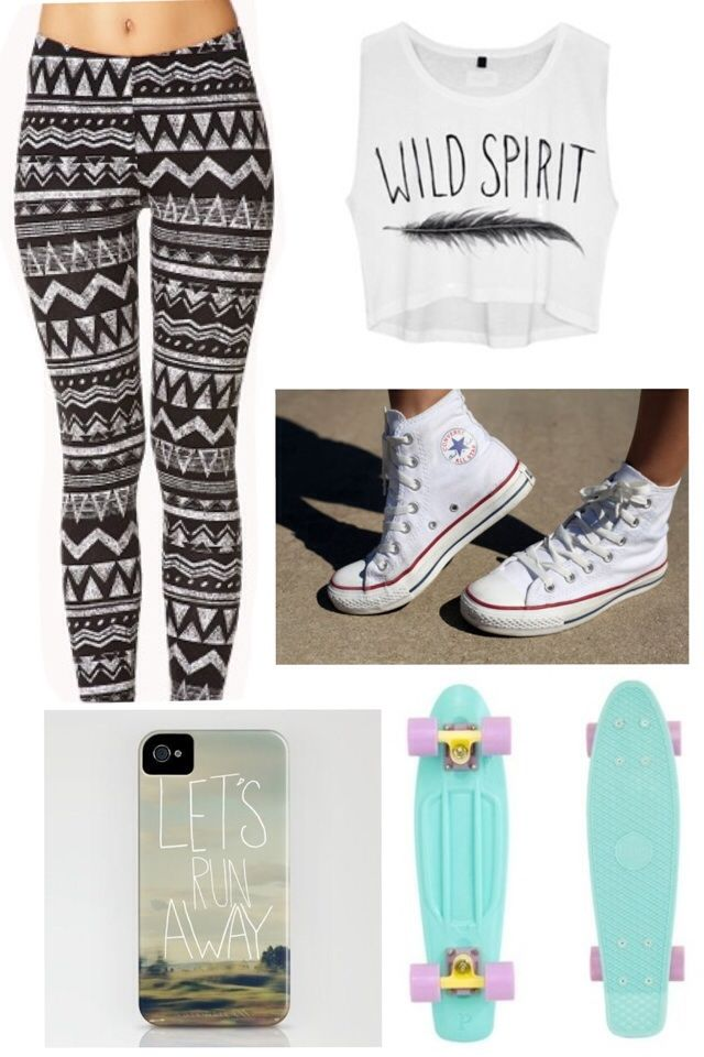 I will learn to skateboard this summer. Even if it is only to suit these outfits xx