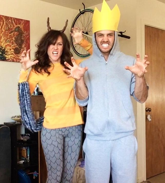 where the wild things are max and monster costume how to at https - Max Halloween Costume Where The Wild Things Are