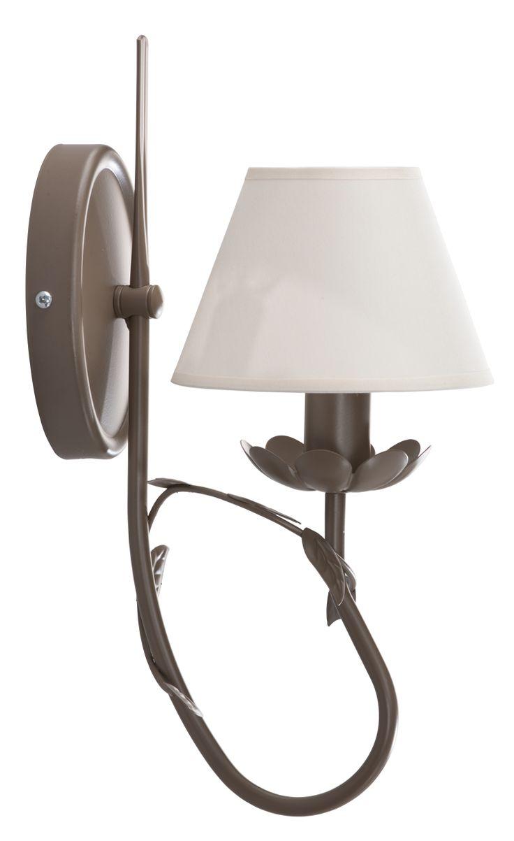 Kinkiet EDYTA  w stylu romantycznym dostępny na naszej stronie www.przystojnelampy.pl   #lampa #kinkiet #lamp #lamps #lampy #oświetlenie # lampa z abażurem #abażur #styl romantyczny #romantic #romantyczny
