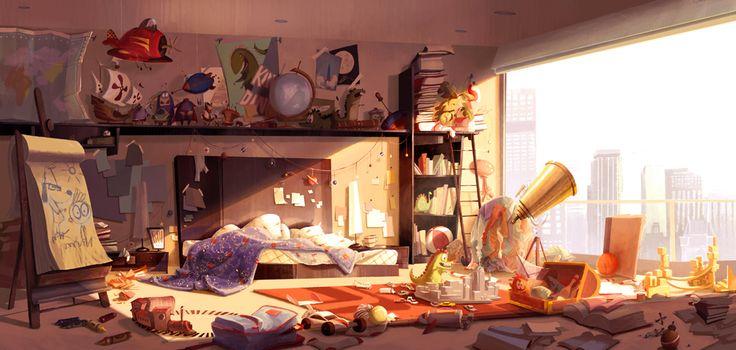Ma chambre !!
