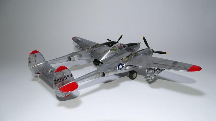 Lockheed P-38, Revell 1:48