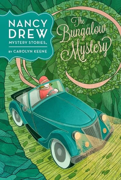 New Nancy drew cover! Yay! Doesn't this cover look so old-fashioned? Love Nancy's outfit looks so cute!
