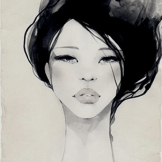 watercolour beauty. #art #illustration #beauty